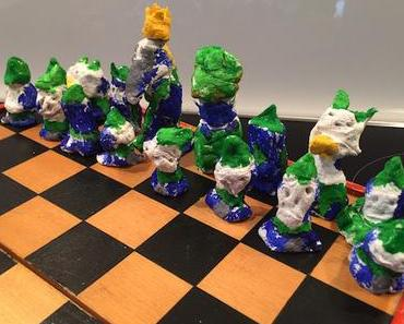 Das Leben ist eine Partie Schach