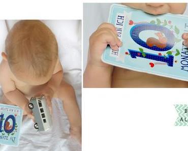 10 Monate Babyglück - Milestonecards