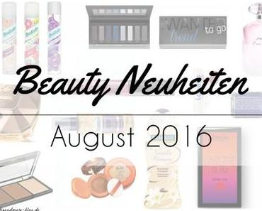 Beauty Neuheiten August 2016 – Preview