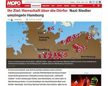 Vorsicht! Die Nazi-Siedler kommen