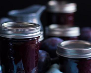 Zwetschgen Heidelbeer Marmelade
