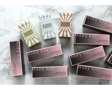 Brandneu von Mary Kay:  Gel Semi-Matte Lipsticks & Glowing Finish Sticks