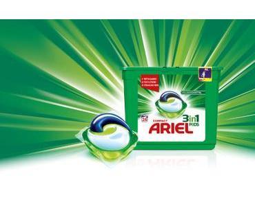 Ariel 3in1 Pods – das erste 3-Kammer-Waschmittel