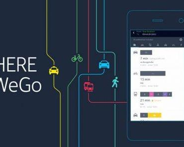 HERE WeGo : Aus Here wird neue Navi App mit weiteren Funktionen