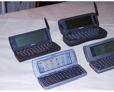 Das erste Smartphone kam vor 20 Jahren