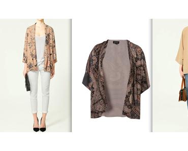 Die Kimono-Jacke