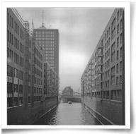 Analogwoche (2) Hafencity im Grossformat auf Ortho25