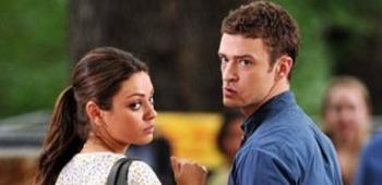 Kunis & Timberlake in 'Friends with Benefits'