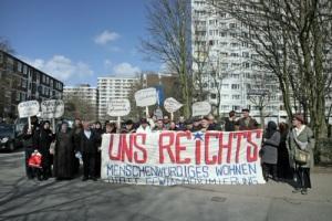 Hamburg: Protestfahrt gegen Slumlord-Strategie der Gagfah