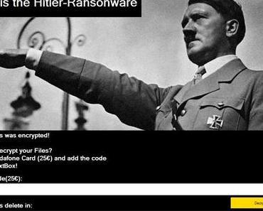 Hitler-Erpressungstrojaner mit schweren Mängeln