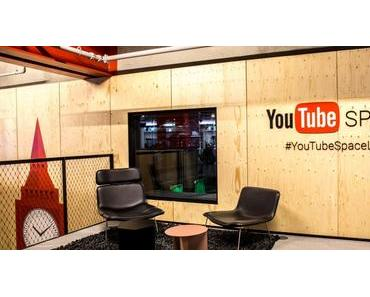 Neuer YouTube Space in London inkl. Creator Store