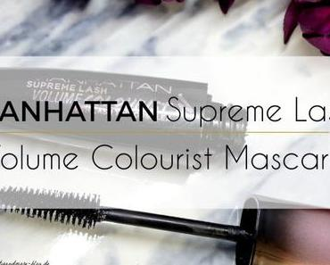 Manhattan Supreme Lash Volume Colourist Mascara – Review