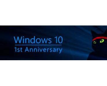 Windows 10 Anniversary Update manuell starten
