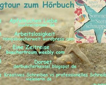"""Blogtour """"Der Sommer der Sternschnuppen"""" - Heute: kreatives und professionelles Schreiben im Vergleich"""