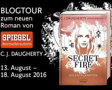 [Blogtour] »Secret Fire - Die Entflammten« - Die Gewinner