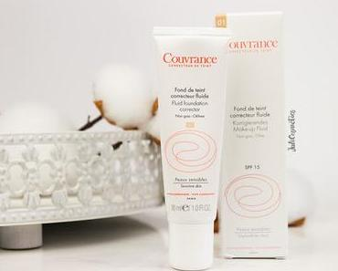 Avène Couvrance korrigierendes Make-up Fluid // Review mit Tragebildern