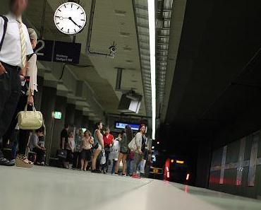 Stuttgart S-Bahn Haltestelle Stadtmitte