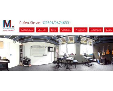 Neue Internetseiten der Musikschule Münsterland
