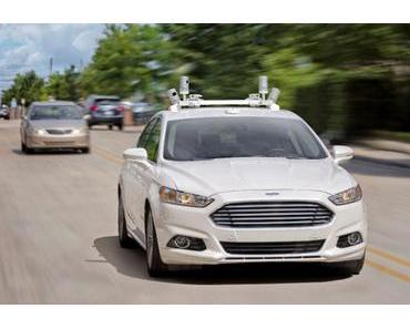 Ford bringt selbstfahrende Autos 2021 auf den Markt