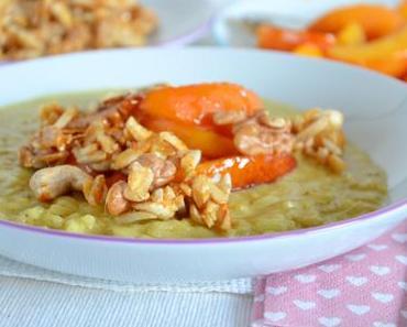 Süßer Curry-Milchreis