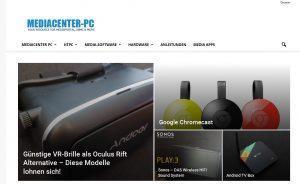 Informationen über MediaCenter-PC´s und co.