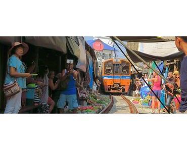 Bangkok Tagesausflug: Maeklong Eisenbahn Markt & Amphawa Schwimmender Markt