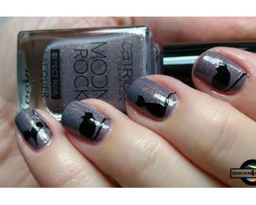 [Nails] Catrice MOON ROCK EFFECT NAIL LACQUER 06 Magical Bluelight