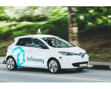 NuTonomy startet selbstfahrende Taxis