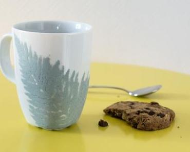 Chalkpaint Farn-Tasse