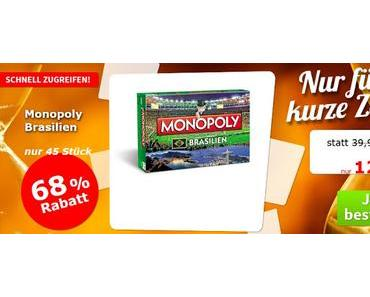 Spiele-Offensive Aktion - Gruppendeal Monopoly Brasilien