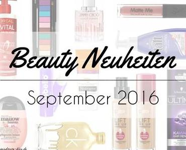 Beauty Neuheiten September 2016 – Preview