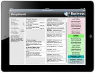 gFM-Business lokal mit iTunes auf einem iPad installieren