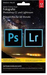 HEUTE: Photoshop CC + Lightroom für 117,99 EUR