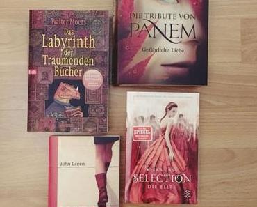 4 Ein Bild mit Roten Büchern #Challenge