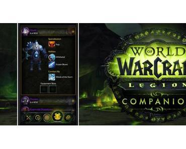 WoW Legion: Mit Companion-App den eigenen Orden verwalten