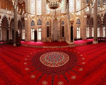 Göbekli Cami Halısı web sayfası