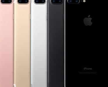 iPhone 7: wasserdicht, Klavierlack, zwei Kameras, keine Kopfhörerbuchse