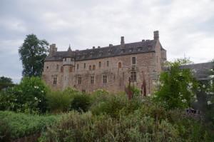 Impressionen aus einem bretonischen Schloßgarten
