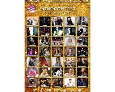 Deutschmusik Song Contest 2016: Finalisten stehen fest