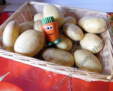 Kleine Karotte als Bürste #BB2G #PinkYourKitchen #Putzig