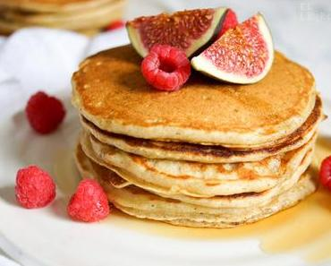 Original kanadische Buttermilch Pancakes