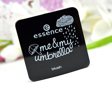 [NEU & LE] Review, Swatches & Tragebilder: essence me & my umbrella Limited Edition Blush Nuance 01 You can stand under my umbrella