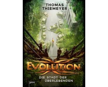 """Blogtour zu """"Evolution"""" von Thomas Thiemeyer"""