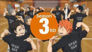 Dritter Trailer zur dritten Staffel von Haikyu!! präsentiert das neue Opening