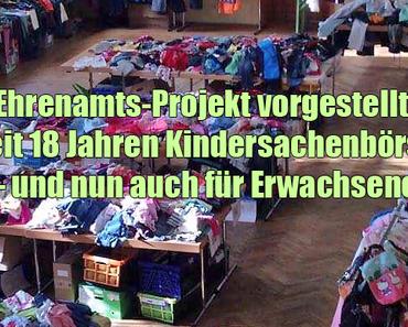 Ehrenamts-Projekt vorgestellt: Seit 18 Jahren Kindersachenbörse – und nun auch für Erwachsene