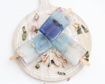 Teatoxy Energizer Popsicles | Wassereis mit Tee und Kokosblütenzucker | bluechaitea