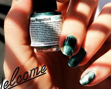 Magnetischer Nagellack - Welcome to the jungle