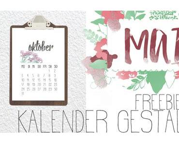 [freebies] 12 Monate… für Kalender & Co.