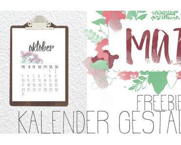 [freebies] 12 Monate… für Kalender & Co.