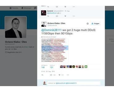 DDoS-Angriff mit satten 1,156 GBit pro Sekunde